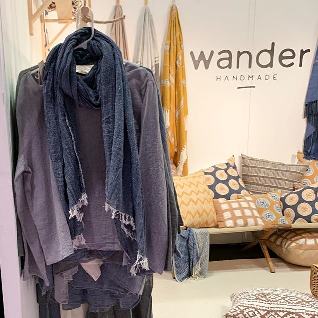 Loom apparel handmade in Turkey is always what to wear while wandering! Come see their beautiful collection @ny_now  booth #1877  #wanderwithus #loom #Turkeytextiles