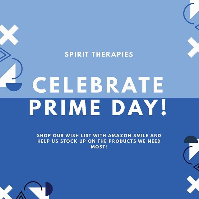 Who is celebrating #primeday? @amazon best deals are available today and tomorrow. What better time to share our SPIRIT THERAPIES @amazonsmile wishlist? We've created a list of our most used items, and we'd love for you to keep us in mind when donating to your favorite non-profits! #amazonsmile 💙 LINK IN BIO! - - - - #weareeagala #equineassistedtherapy #equineassistedpsychotherapy #therapists #psychology #therapistlife #equinetherapy #mentalhealth #mentalhealthawareness #mentalhealthmatters #femalefounded #endthestigma #selfcare #selflove #mentalillness #recovery #mindfulness #motivation #wellness #ptsd #hippotherapy #meditation #horsesheal #veterans #volunteer #lasvegas #WomenInBusiness #pathintl