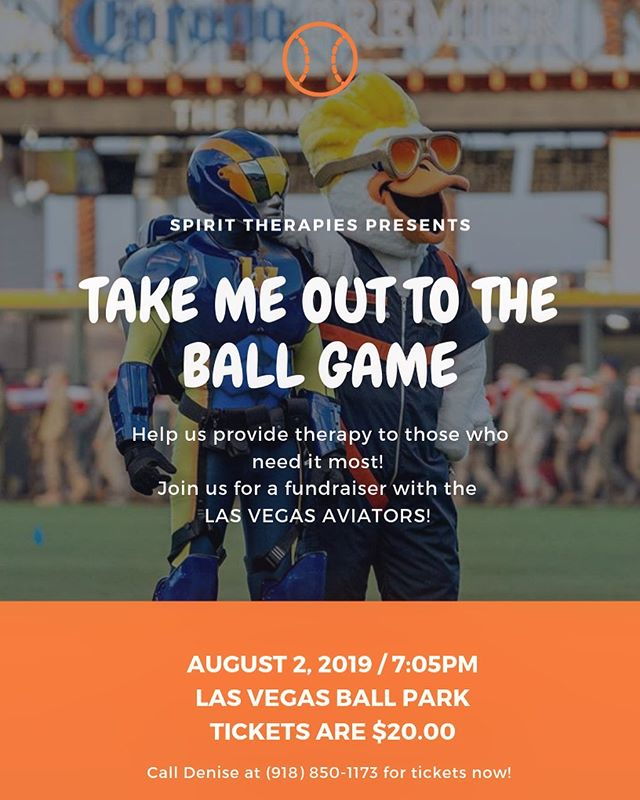 Join SPIRIT THERAPIES and the @aviatorslv at @thelvballpark at @downtownsummerlin on Saturday, August 2 at 7:05pm!! We're hosting a fundraiser to help us to provide equine therapy sessions at our facility for those that need it most. 💙 - - - - #weareeagala #equineassistedtherapy #equineassistedpsychotherapy #therapists #psychology #therapistlife #equinetherapy #mentalhealth #mentalhealthawareness #mentalhealthmatters #femalefounded #endthestigma #love #selfcare #selflove #health #mentalillness #recovery #mindfulness #motivation #wellness #ptsd #hippotherapy #meditation #horsesheal #veterans #volunteer #lasvegas #WomenInBusiness #pathintl