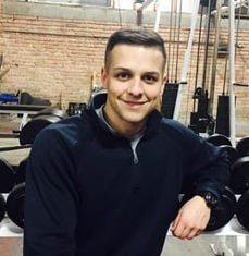 Dan Tanis - Meet Dan! Dan has been working in the fitness industry since 2014. He is a licensed physical therapist assistant and is a certified trainer through ISSA. He is working on his Bachelors in Sports and Health Sciences from AMU and plans to attend Rocky Mountain University for is Masters in Sports Performance. Dan recently completed an initial 12 week internship with world record holding powerlifter, Matt Wenning. He has also been in the United States Army for 6 years where he is his current units fitness coordinator. Dan is also certified in applied functional science and the Graston technique. Dan aspires to help people get strong for everyday life. He enjoys working with firefighters, police officers and members of the military.