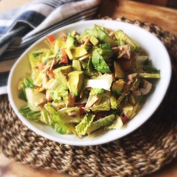 Garden Market's Lori's Salad with Grilled Chicken