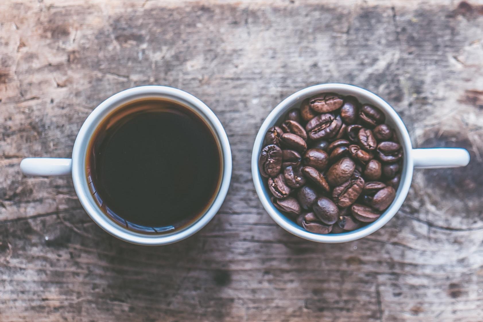Fresh Brewed Organic Green Star Coffee