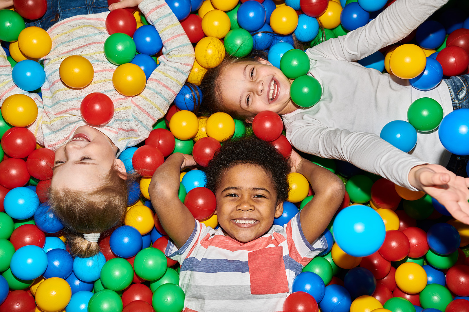 Play Way - For children aged 5 – 10 we have play way, where they can have endless fun, playing in the ball pit, climbing around or whizzing down one of our fun slides – Giving the little ones the opportunity to navigate their way through our zone focused on play.