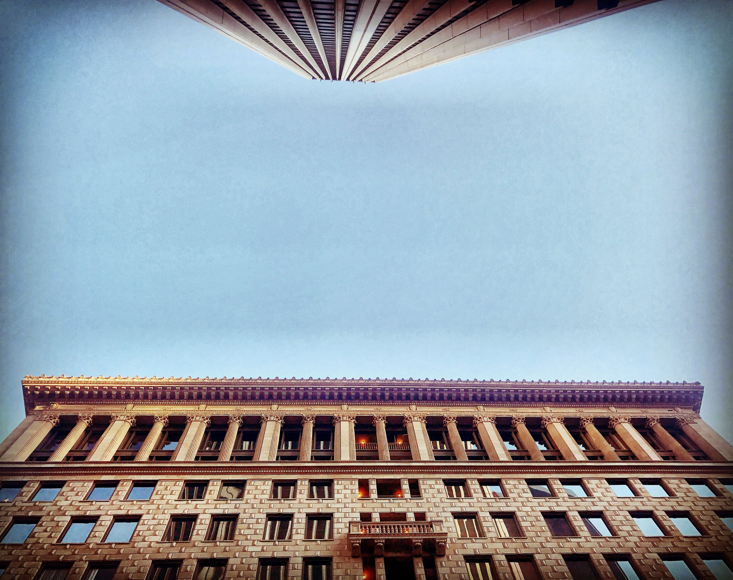 Things are looking up … - Downtown, L.A.