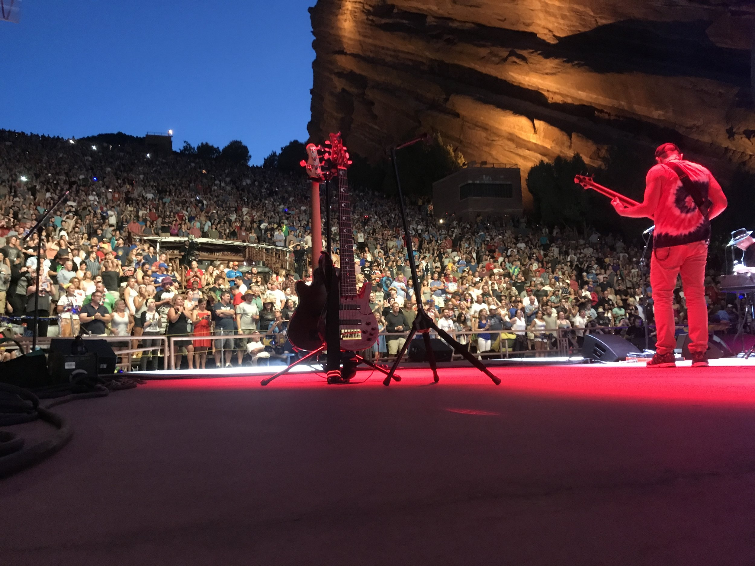 A look out for at those who rock out.  - Blues Traveler @ Red Rocks, Colorado