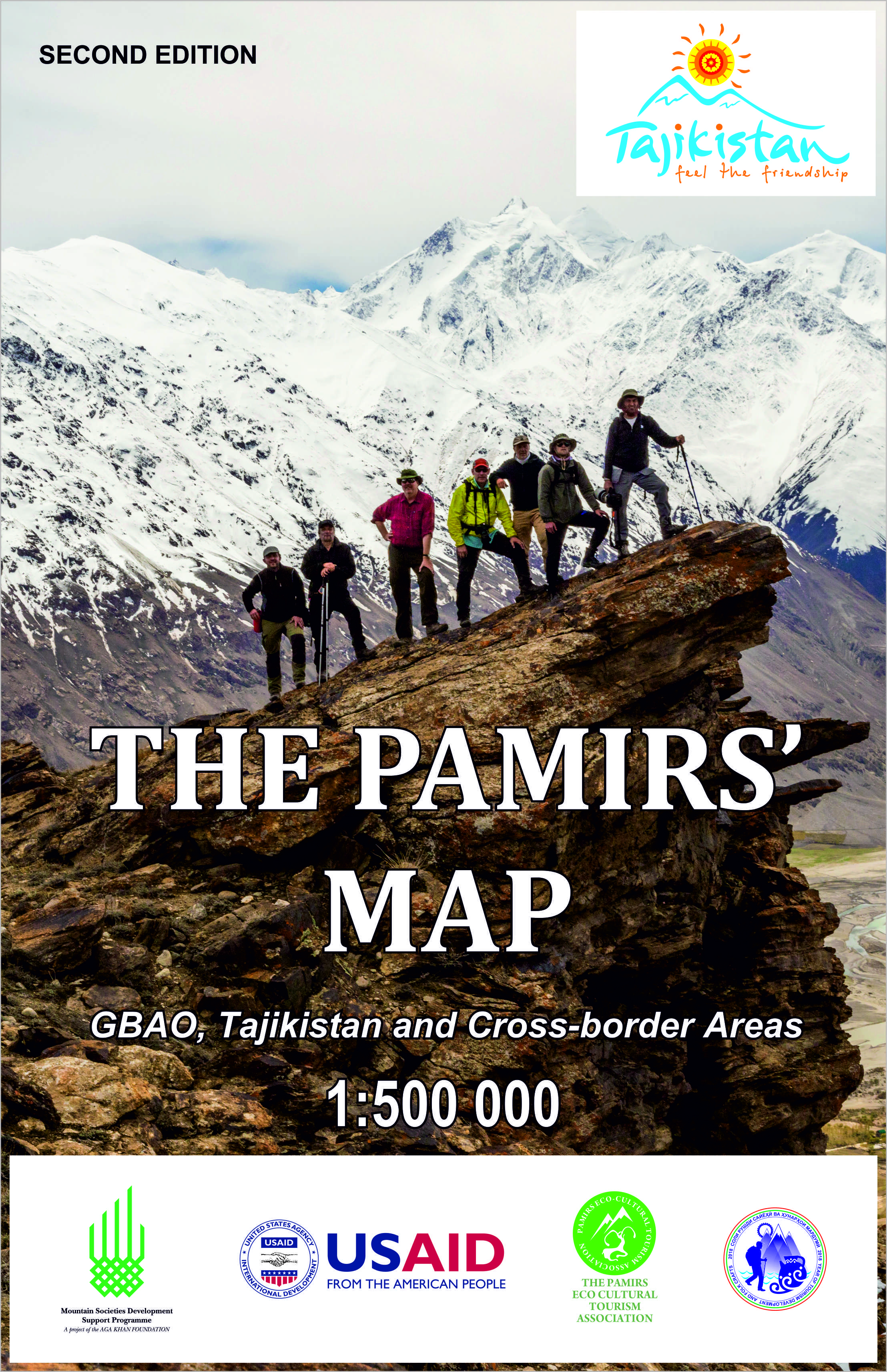 The Pamirs' Map is available in the PECTA Tourism office in Khorog