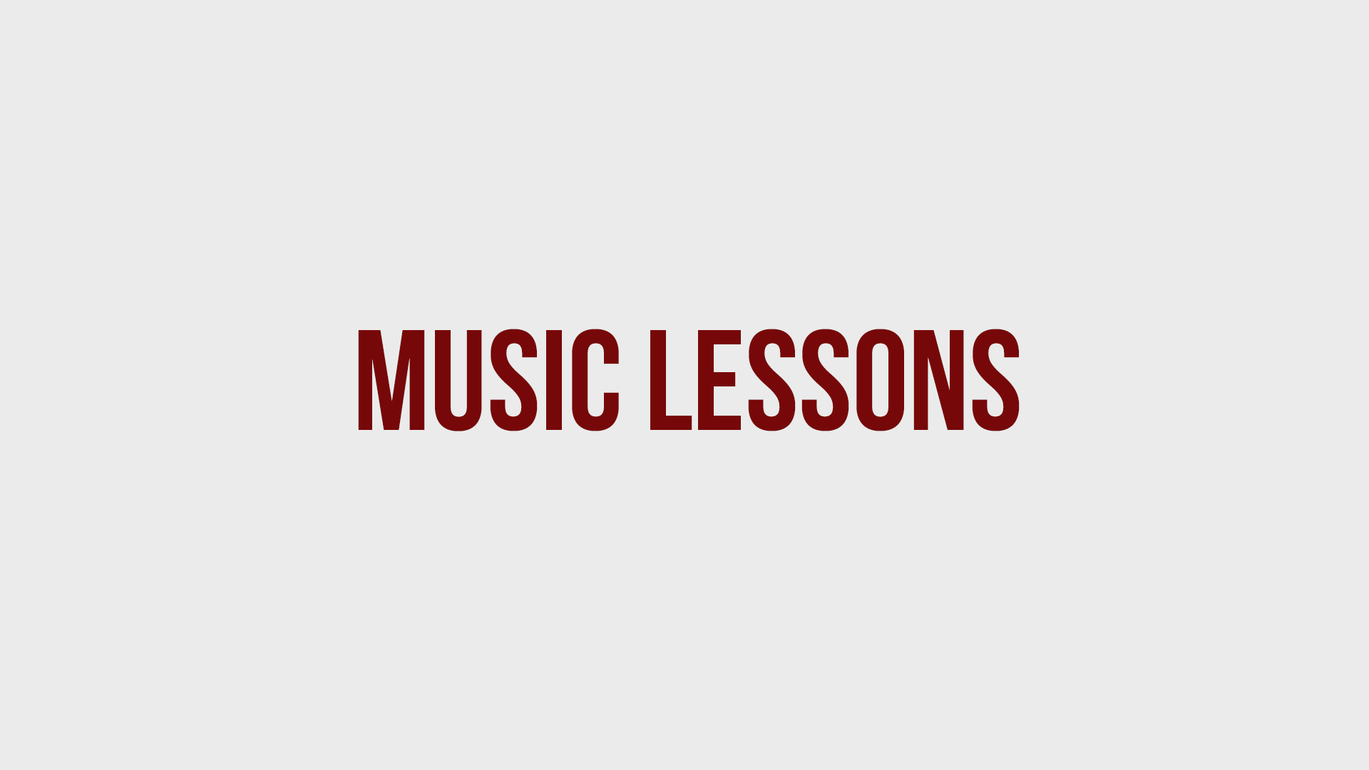 Premier Music Lessons - As a private studio, we believe in the importance of music education for all ages. It is our responsibility and duty to ensure that the highest quality of instruction be given to all students; develop appreciation for all genres of music; help to instill good self discipline and confidence within each student; and to build a lifetime of love for music and the arts.