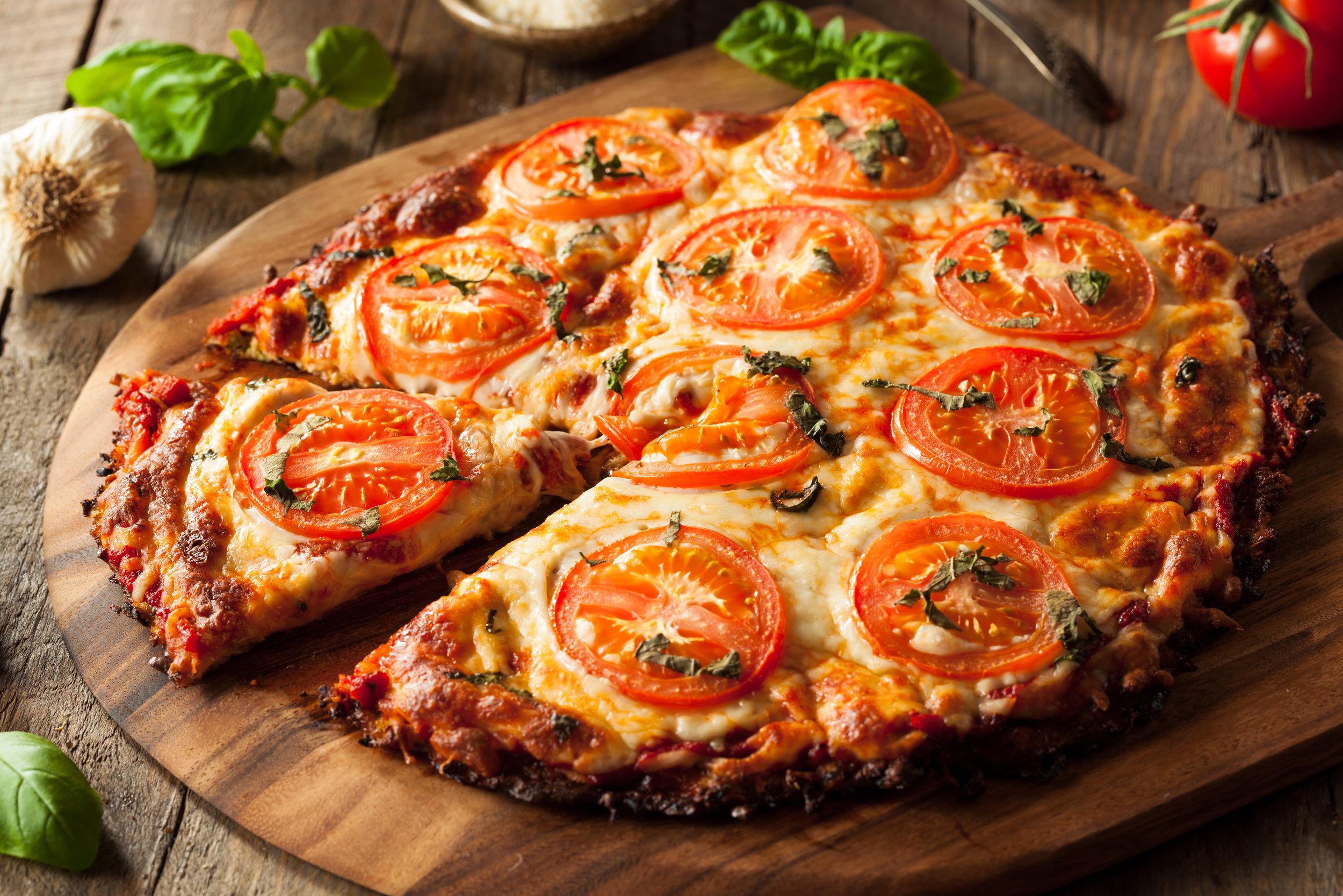 Blomkålpizza - Se oppskriften her!