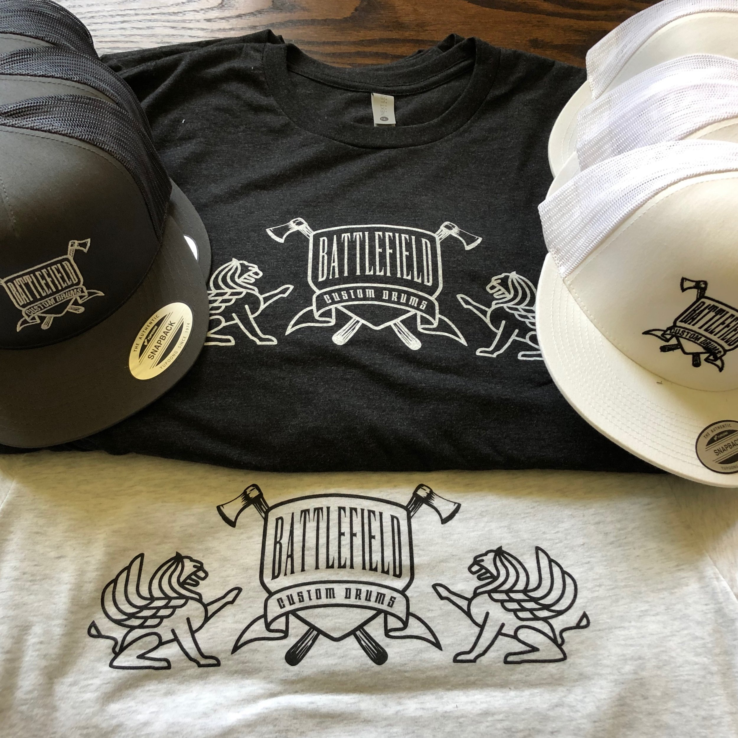 MERCH  Represent Battlefield! check out our shirts and hats.