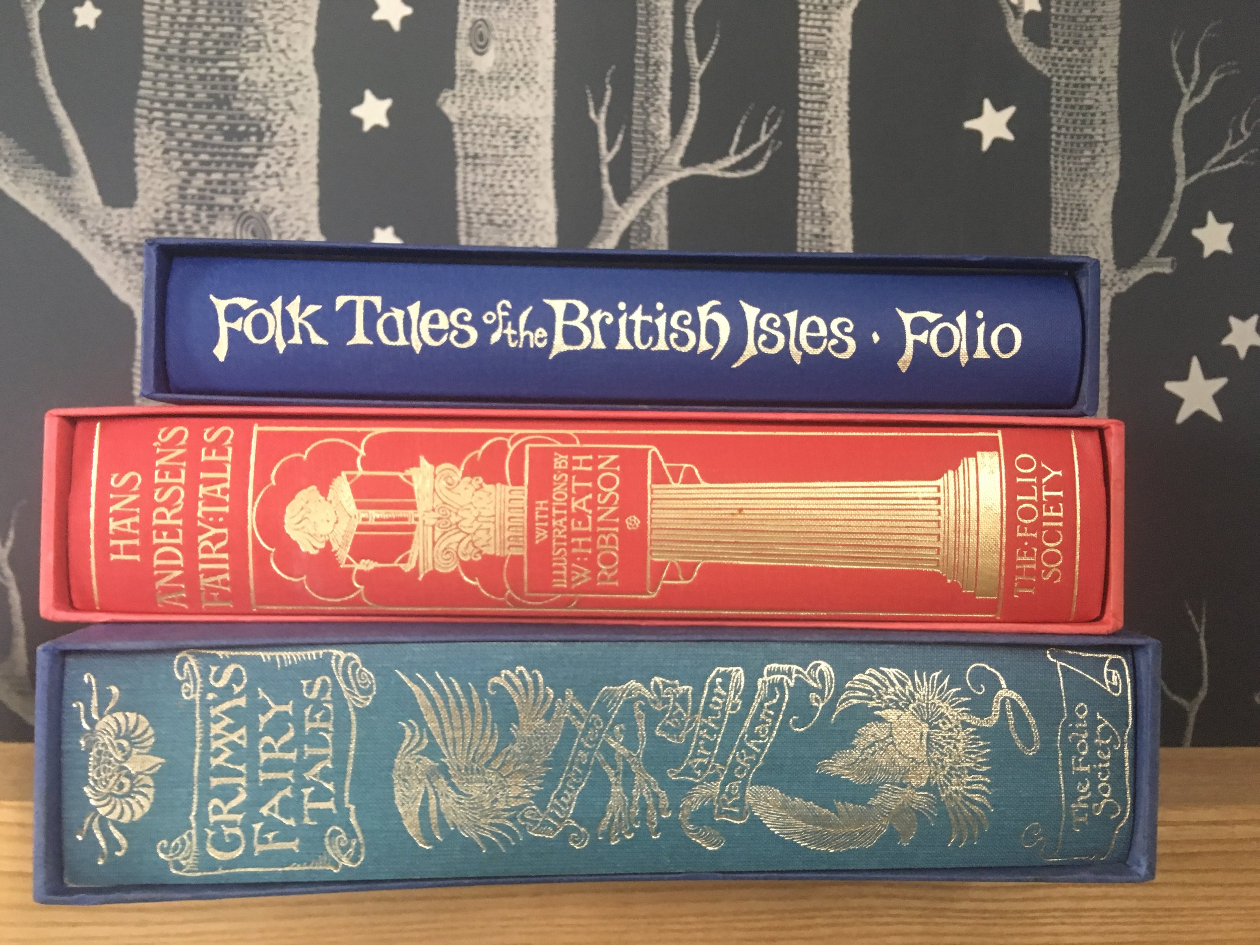 These books belonged to my nan, and I've used them in a lot of the banner images for the website - because the spines are so pretty, and the contents so darkly fascinating…