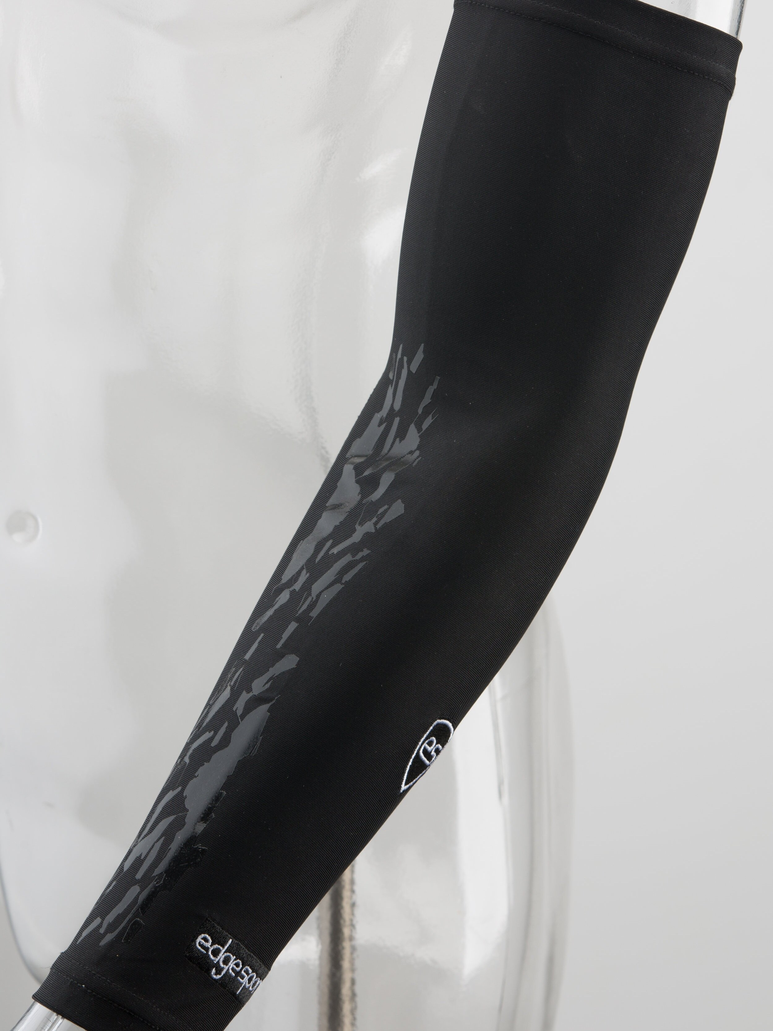 - THE NEW EDGE SPORTS ARM SLEEVES WITH OUR PATENTED AND ALL LEAGUE APPROVED GRIP IS READY FOR PRE - ORDER!Expertly crafted for moisture wicking and compression. The inside of the arm is covered in our STRONGHOLD Grip material. Enough compression to keep your arms ready, all with a grip to prevent those game losing turnovers.