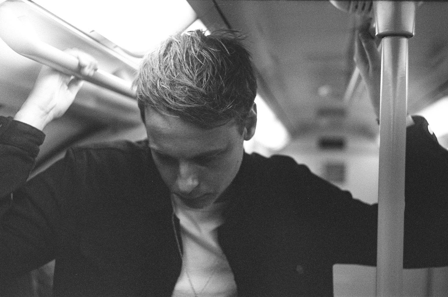 Jack Spring on London Underground