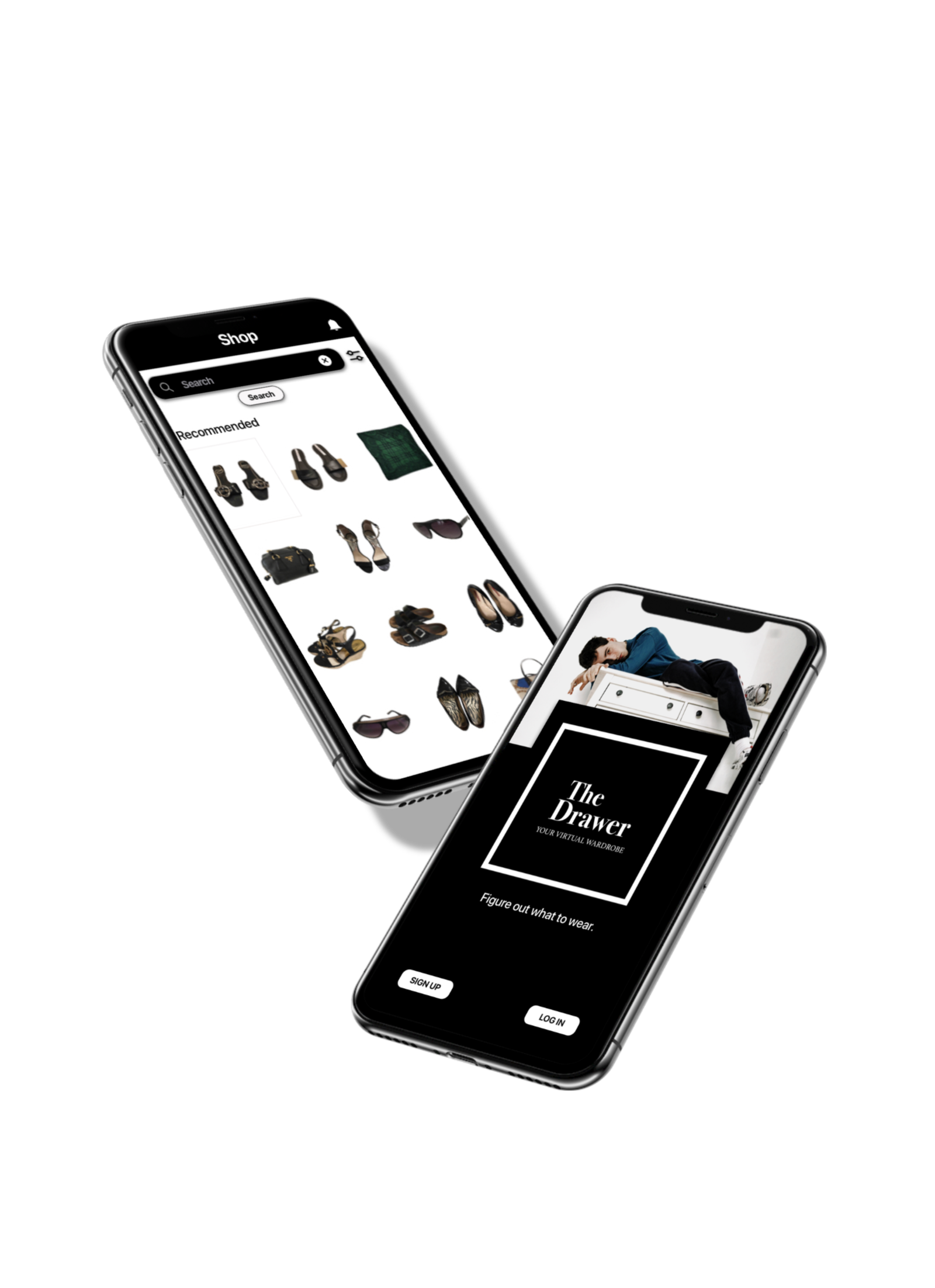 The Drawer - The Drawer is an application which aims at helping people coordinate their clothes to create personalised & trendy outfits.Whether it's for a special occasion or just to get inspiration, the virtual wardrobe gives you ideas on what to wear based on your real wardrobe and even comes up with curated recommendations to refine your look.
