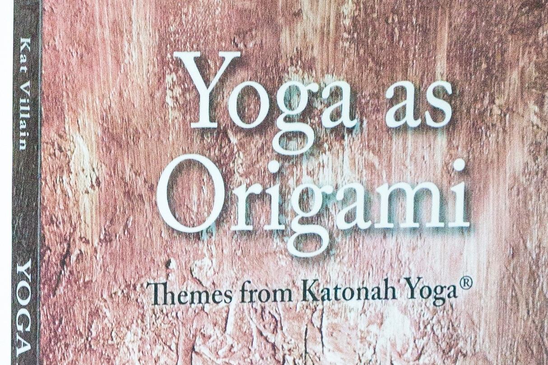Yoga as Origami by Kat Villain — $35.00
