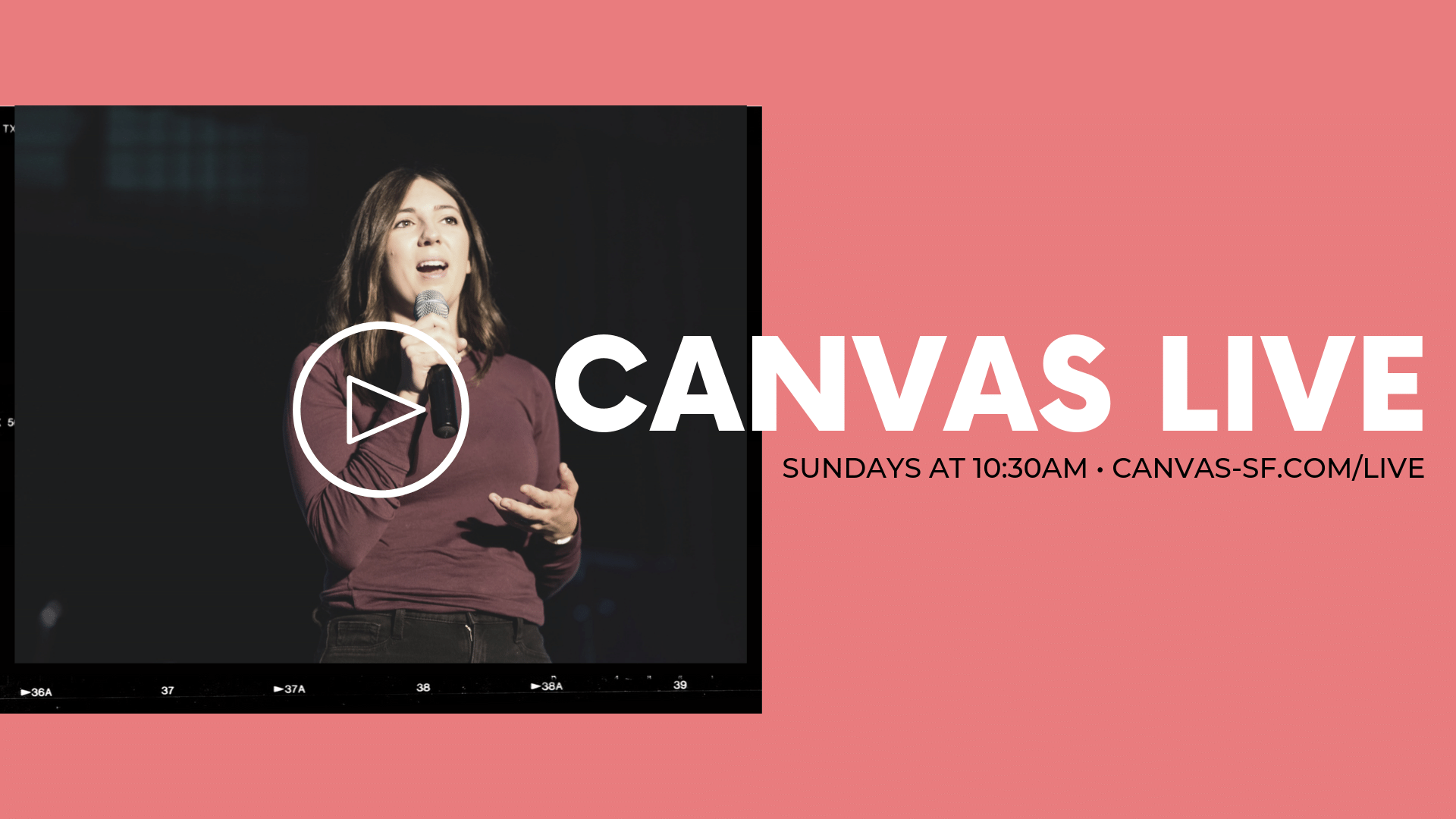 Join our online church service at Canvas Church in San Francisco. You belong here.