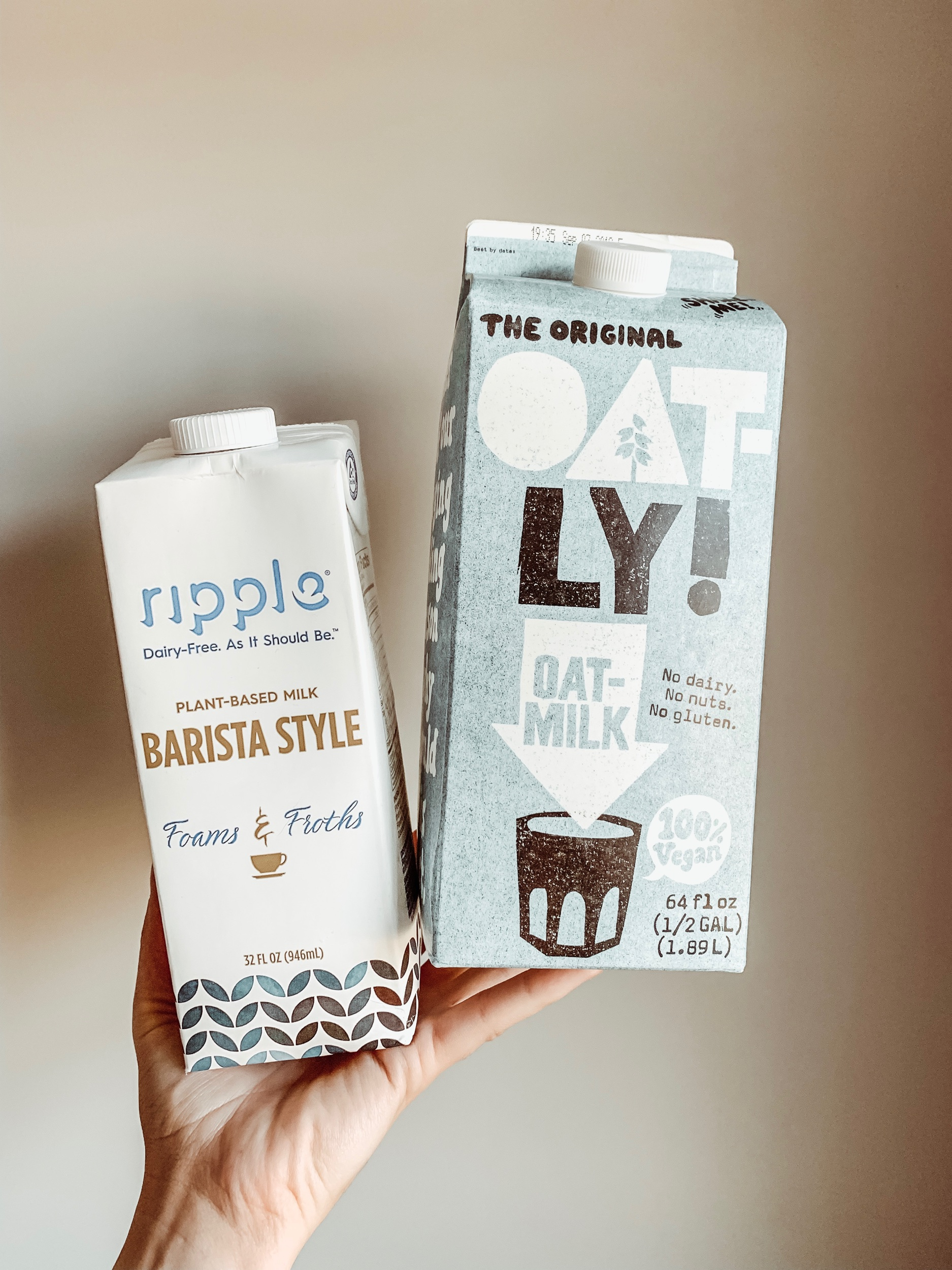 The Best Plant-Based Milk for Frothing -  Vegan Lattes