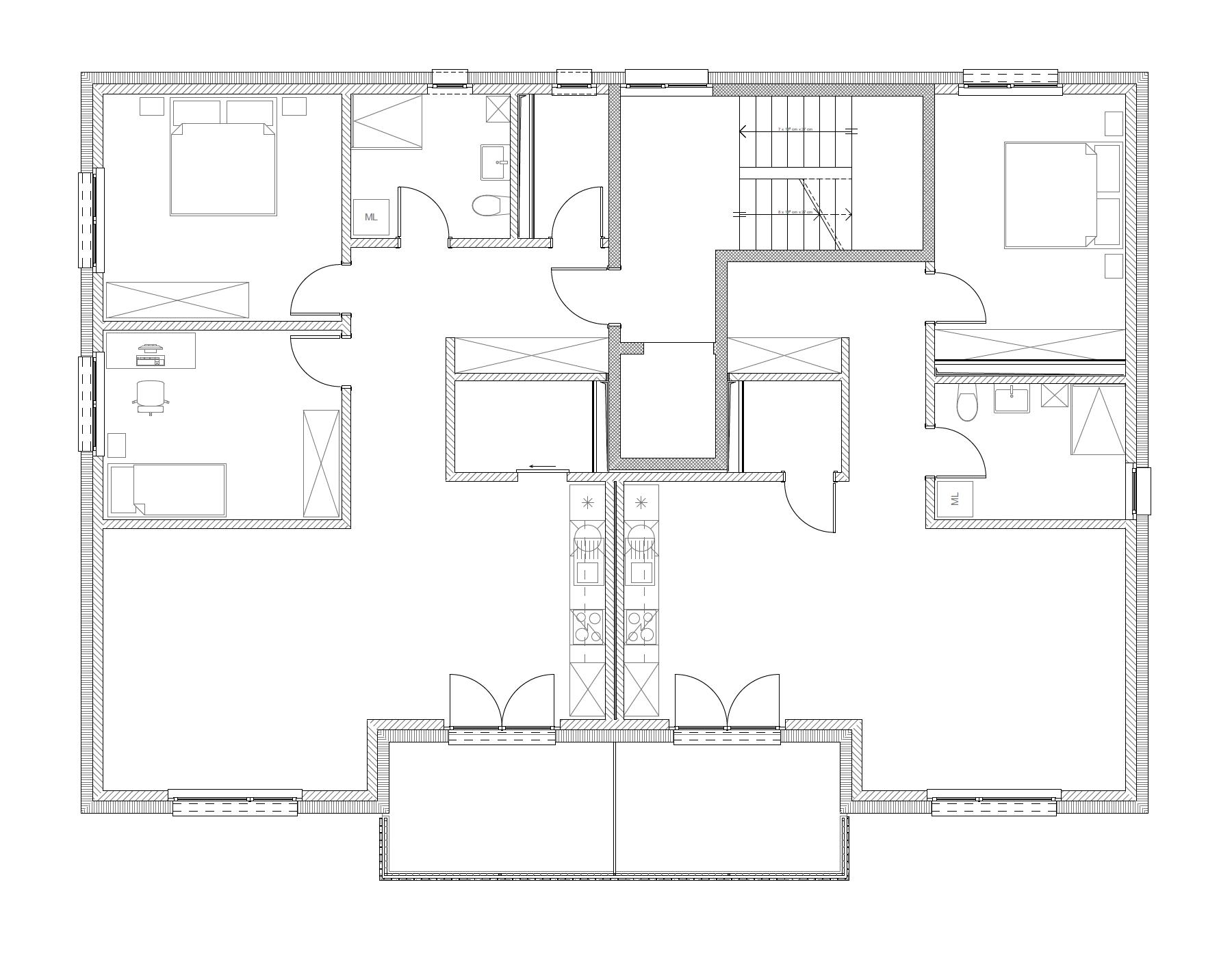 Bâtiment A, 1er étage