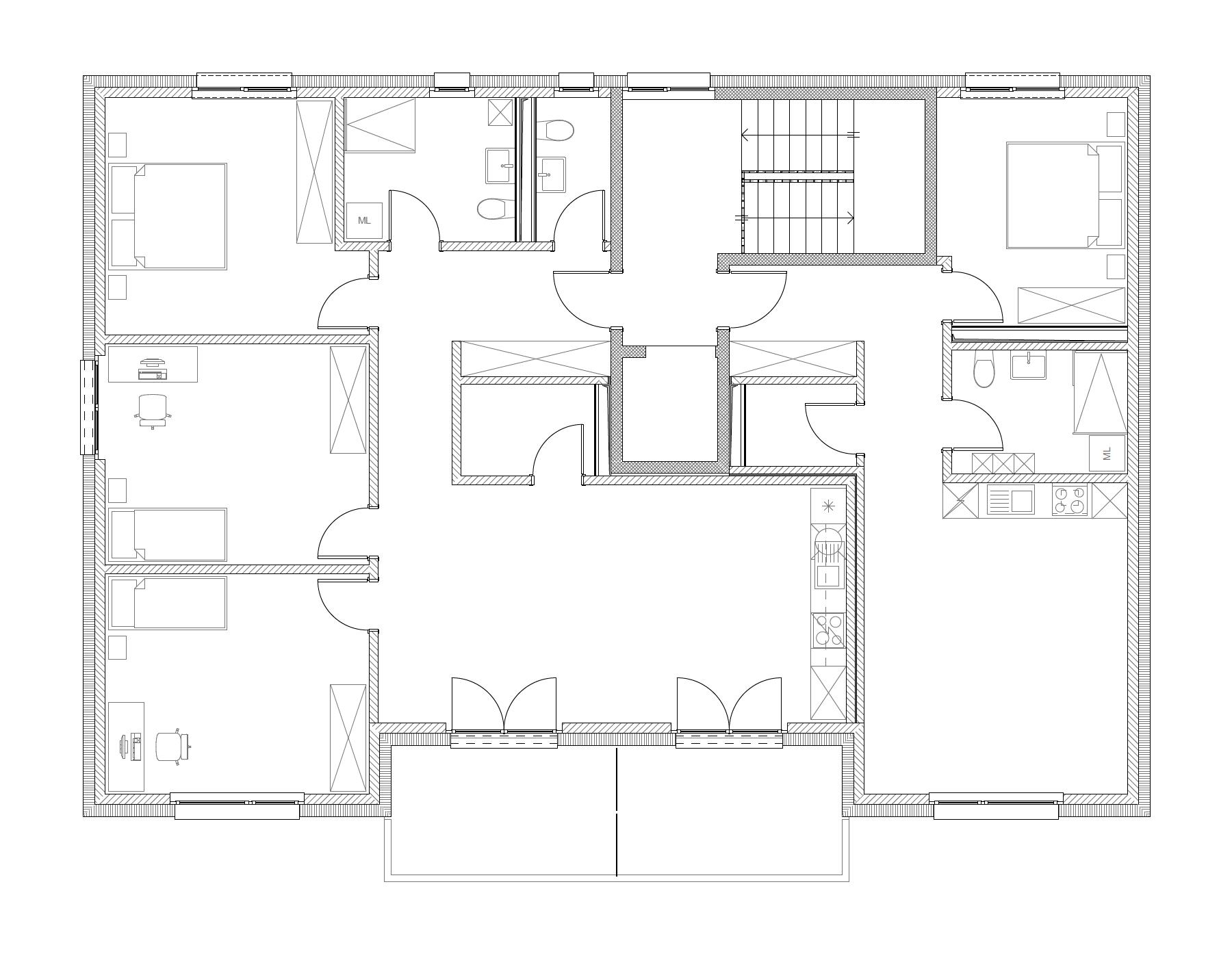 Bâtiment A, 2e étage
