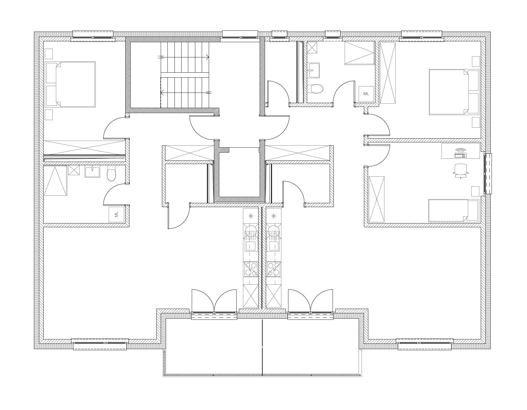 Bâtiment B, 2e étage