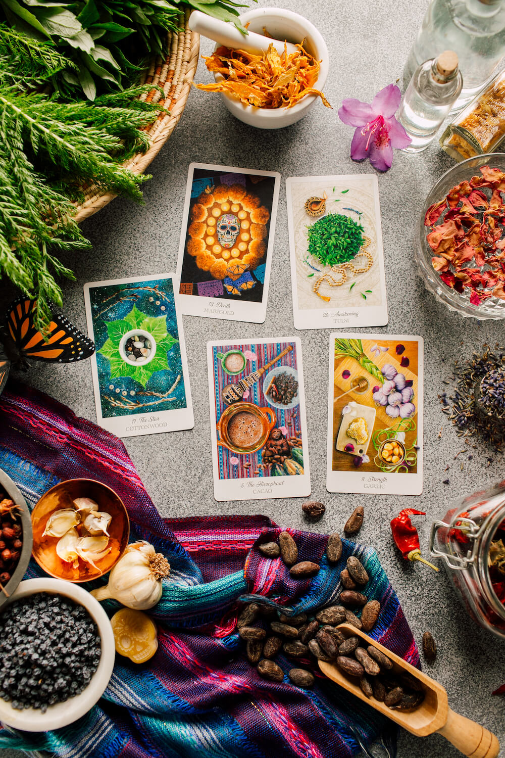 The Herbcrafter's Tarot - The Majors