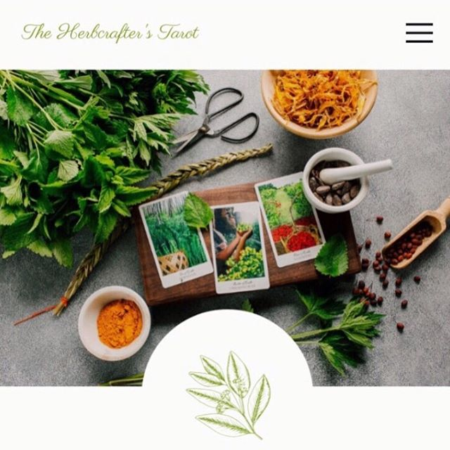 The Herbcrafter's Tarot website is finally live! Thanks to the amazing @kerstinmartin for her incredible work 🌿 We're pushing play even though it's not quite finished. We have plans to slowly add more content to help you dive deeper with the cards. For now you can learn a little more about the deck, check out upcoming events and hear what folks are saying about it 🍃 Hey y'all, Latisha here. I'm so excited the site is going live! I've been running the Instagram account but it's been a little challenging. I haven't posted much because I've been working on the site. I'm a homesteader and homeschooling mama and find it hard to keep up with the fast pace of social media. Admittedly home and hearth are where my heart is and while I do have a limited number of free hours in the day I simply can't do it all and not burn out  So I'm going to be turning my attention to writing great resources to help your journey with The Herbcrafter's Tarot like in depth articles, spreads and maybe even an expanded guide book. I know a Joanna has some secret plans up her sleeve as well. We'll share everything on the site as it develops  We will continue to share #herbcrafterstarot information on our personal pages @joannapcolbert and @herbmother as well as Joanna's FB and email newsletter  Thank you for understanding.  Come check out our new digital homebase.  We hope you like it!