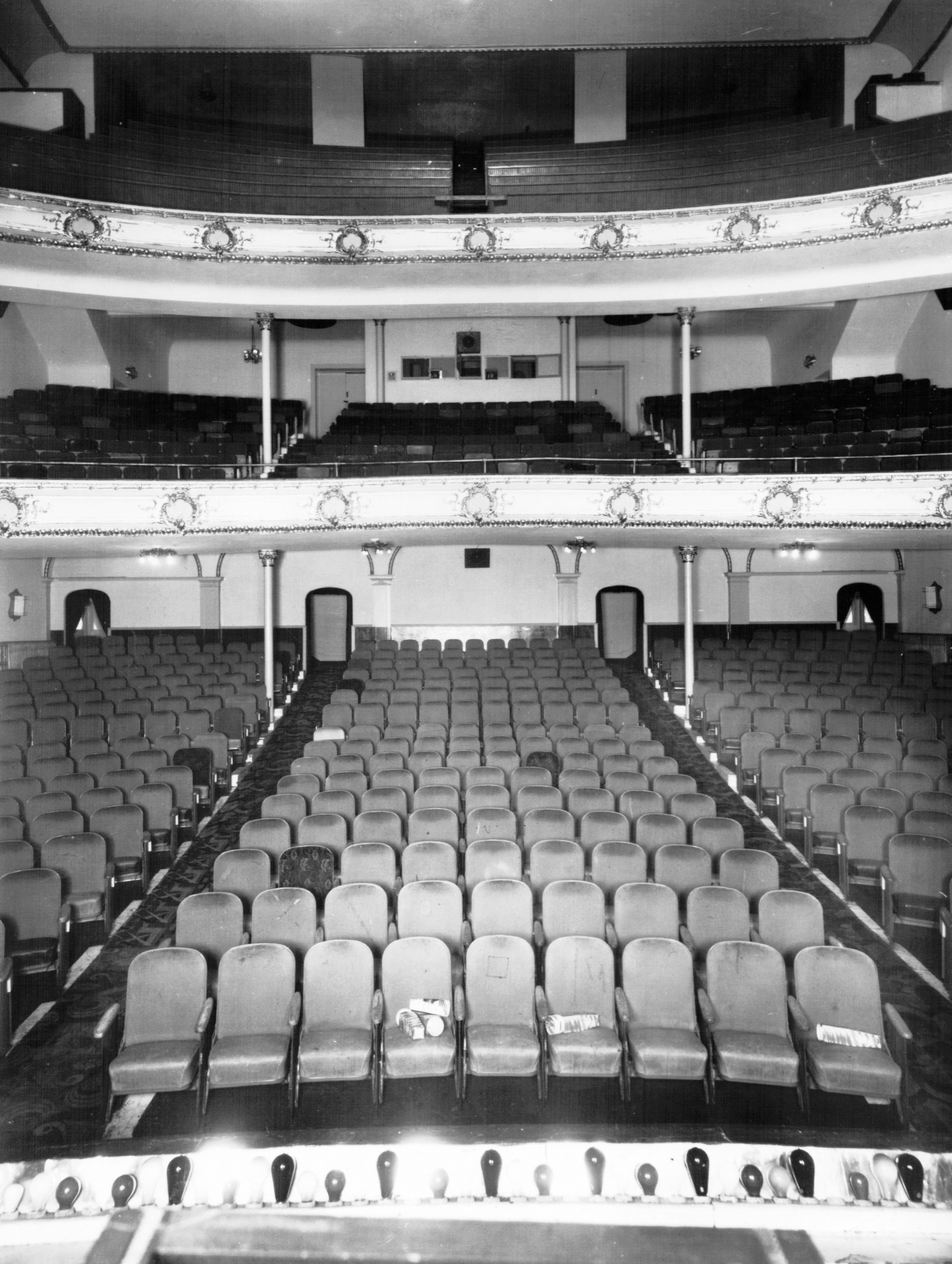 1964 view of auditorium from stage.