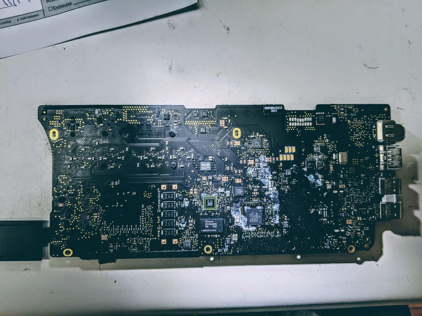 Copy of Liquid Damage Repair