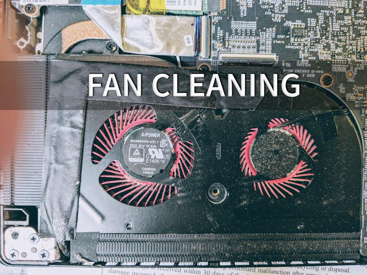 Fan and Heatsink Cleaning