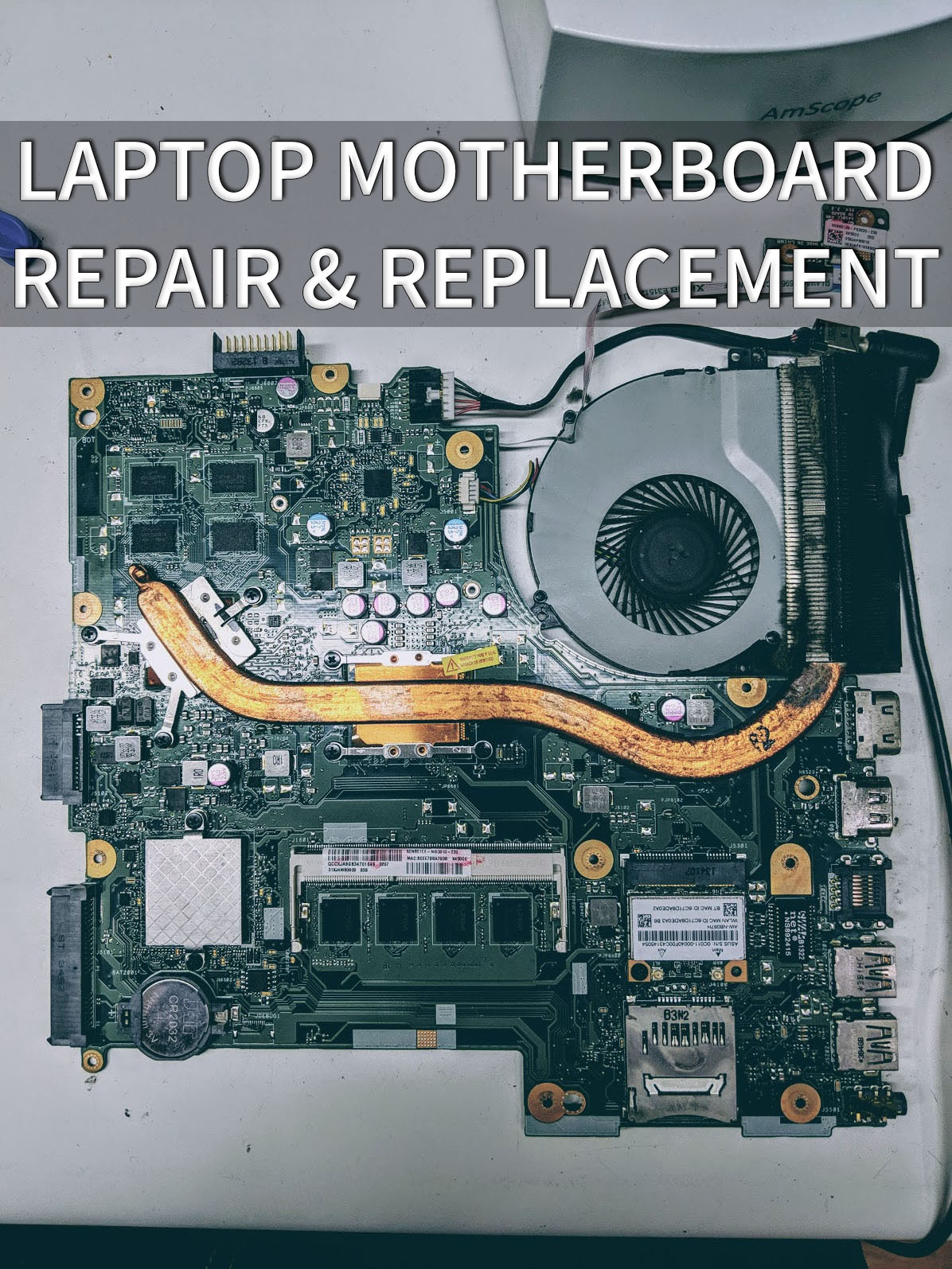 Laptop Motherboard Repair & Replacement