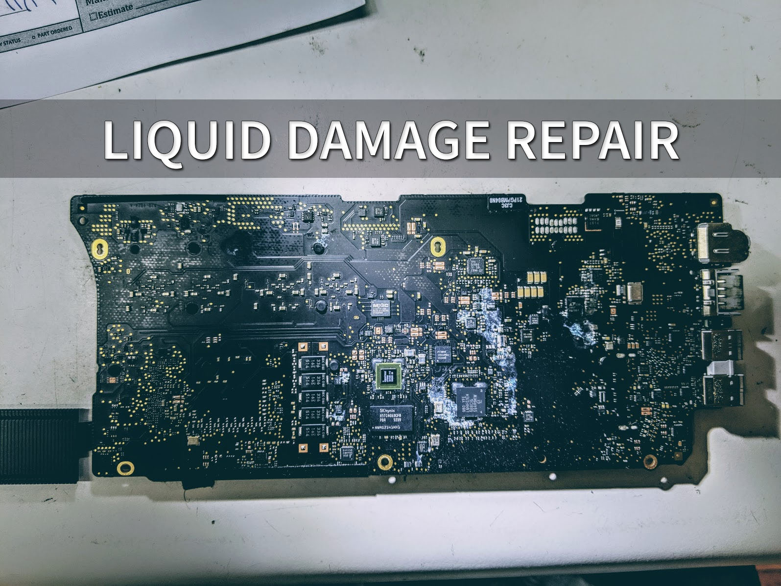 Liquid Damage Repair