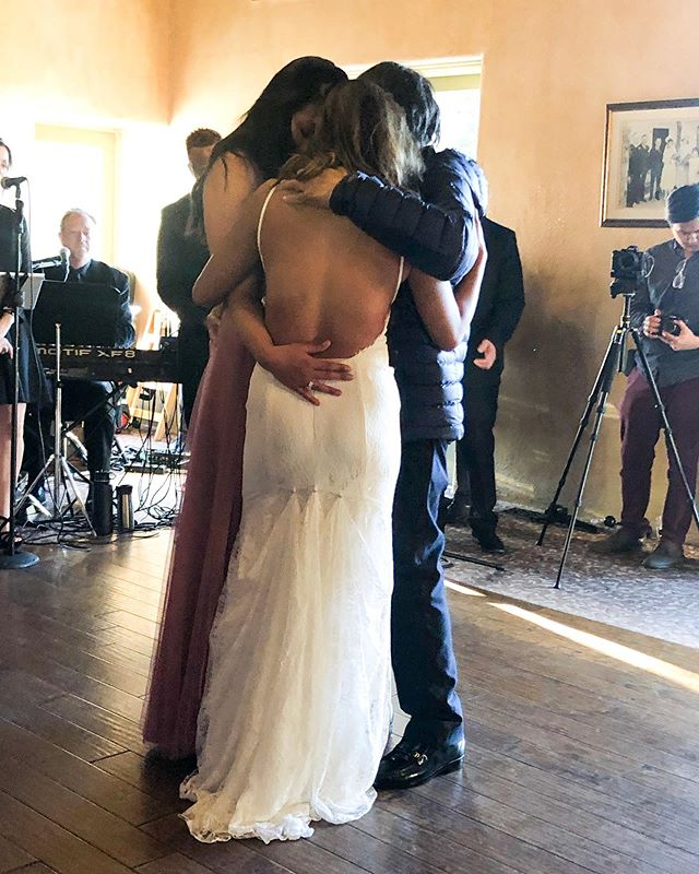 This dance is a testament to what a father's love can do. Prior to this day, my dad couldn't walk more than a step or two. Somehow, we managed an entire 4 mins together for our dance. ❤️ Halfway through I asked my sister to join in on it too, since she likely won't get a father/daughter dance with him. 😢 It was incredibly emotional and so, so special. Guys, it really sucks to lose a parent so slowly. But I try my best to look at it through a positive lens as much as possible. Weekly, I ask my dad to just share stories I've never heard before— especially stories from BEFORE he was my dad. It's been pretty cool to hear all of these memories that make him, him. And it's those times I'm thankful to have the time that we DO have. 🥰 Happy Father's Day to all of the amazing dads, you don't know how much your powerful and incredible love shapes us all.