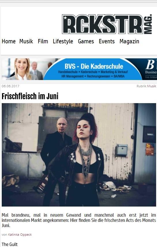 The Guilt - Rockstar Magazine Feature.jpg