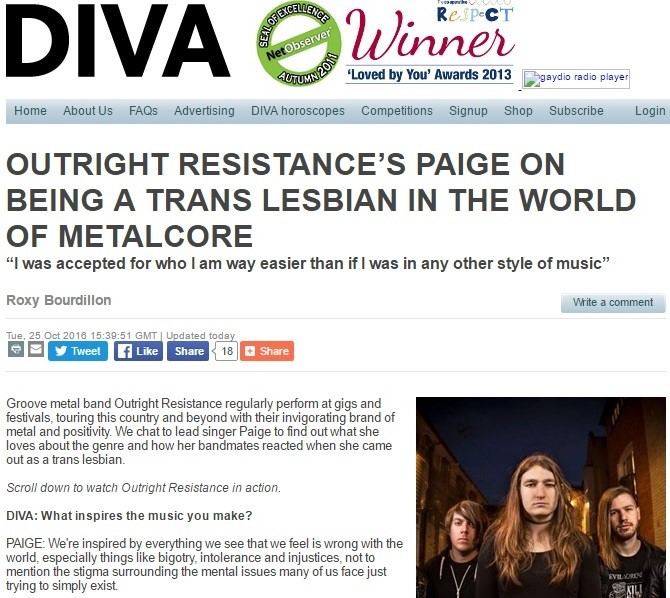 Outright Resistance - Diva Magazine Interview.jpg