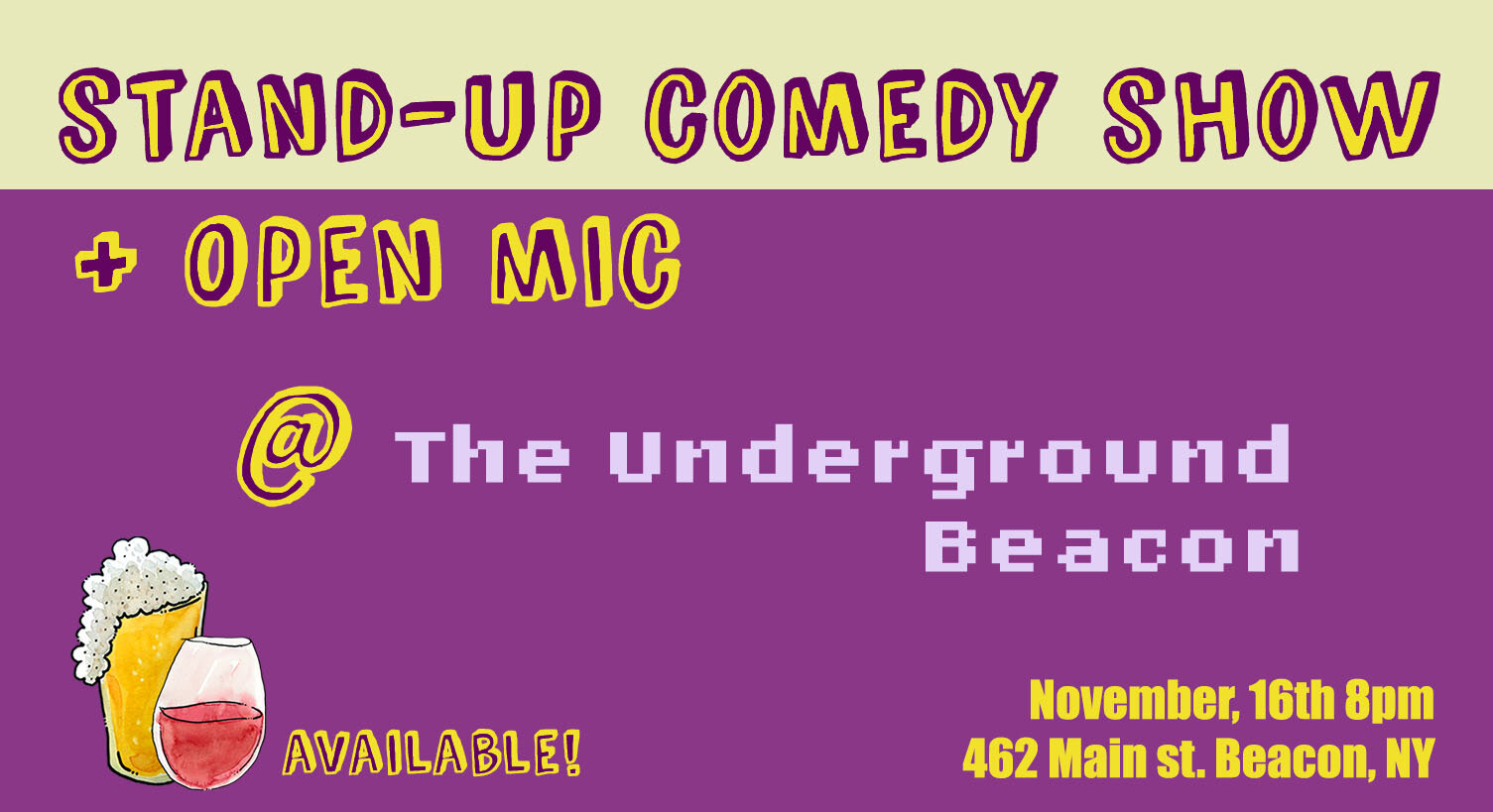 Stand Up Show at Underground comics.jpg