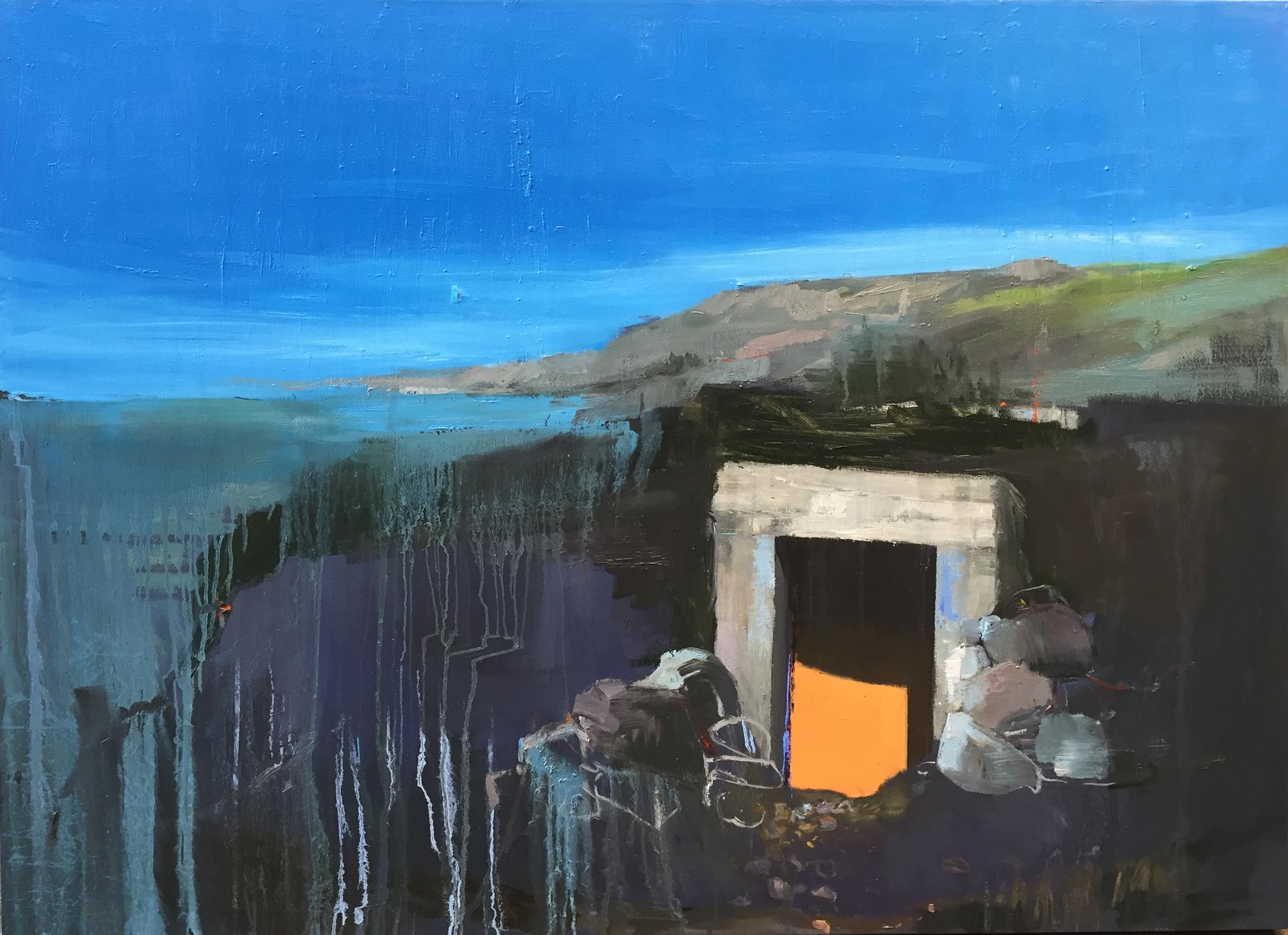 """Ocean, 2015, oil on canvas, 48"""" x 60"""""""