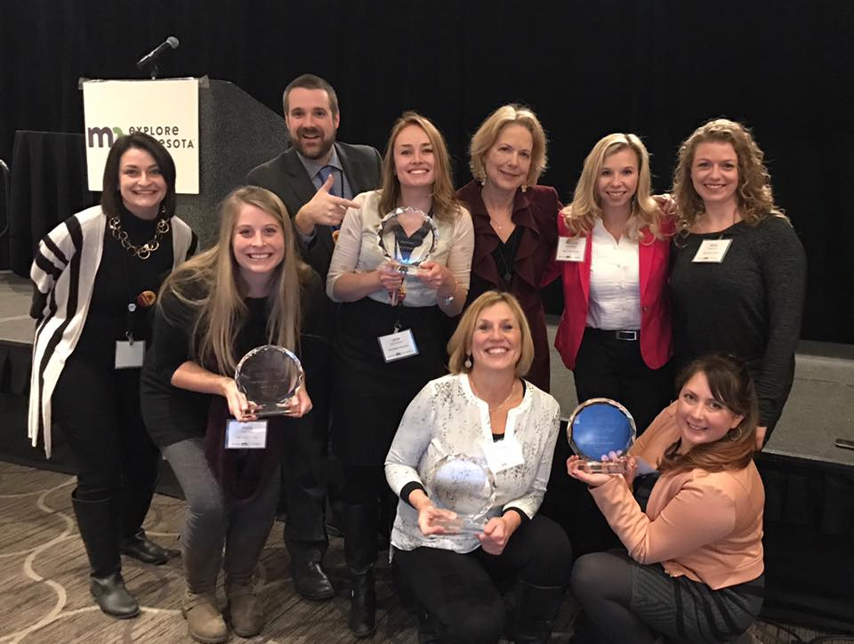 LIN Public Relations celebrates Explore MN award with VCC.jpg