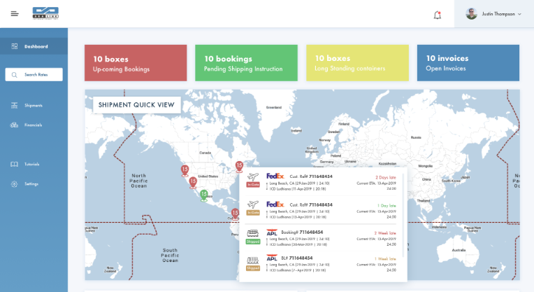 Web Portal Sealink International Inc