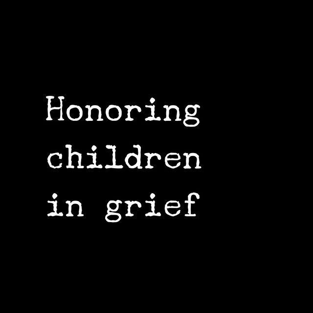 November is Children's Grief Awareness Month. That's every day in my house. I honor all of the kiddos who have learned about death and grief way too young.  Emily was six when her dad died. Navigating her grief was at times simply unbearable. The raging, the screaming, the pain, the questions I couldn't answer. I would have given a limb, all limbs, to take her pain away.  But alas, I could only bear witness, hold her, love her, talk with her, be with her. She taught me more about BEing than anyone else.  I honor all of the grieving children. Every day. And I honor the adults who love them. It's a club I never wanted to join.  #iamagriefwarrior #childrensgriefawarenessmonth #grievingchildren #griefandloss #bereavement #loss