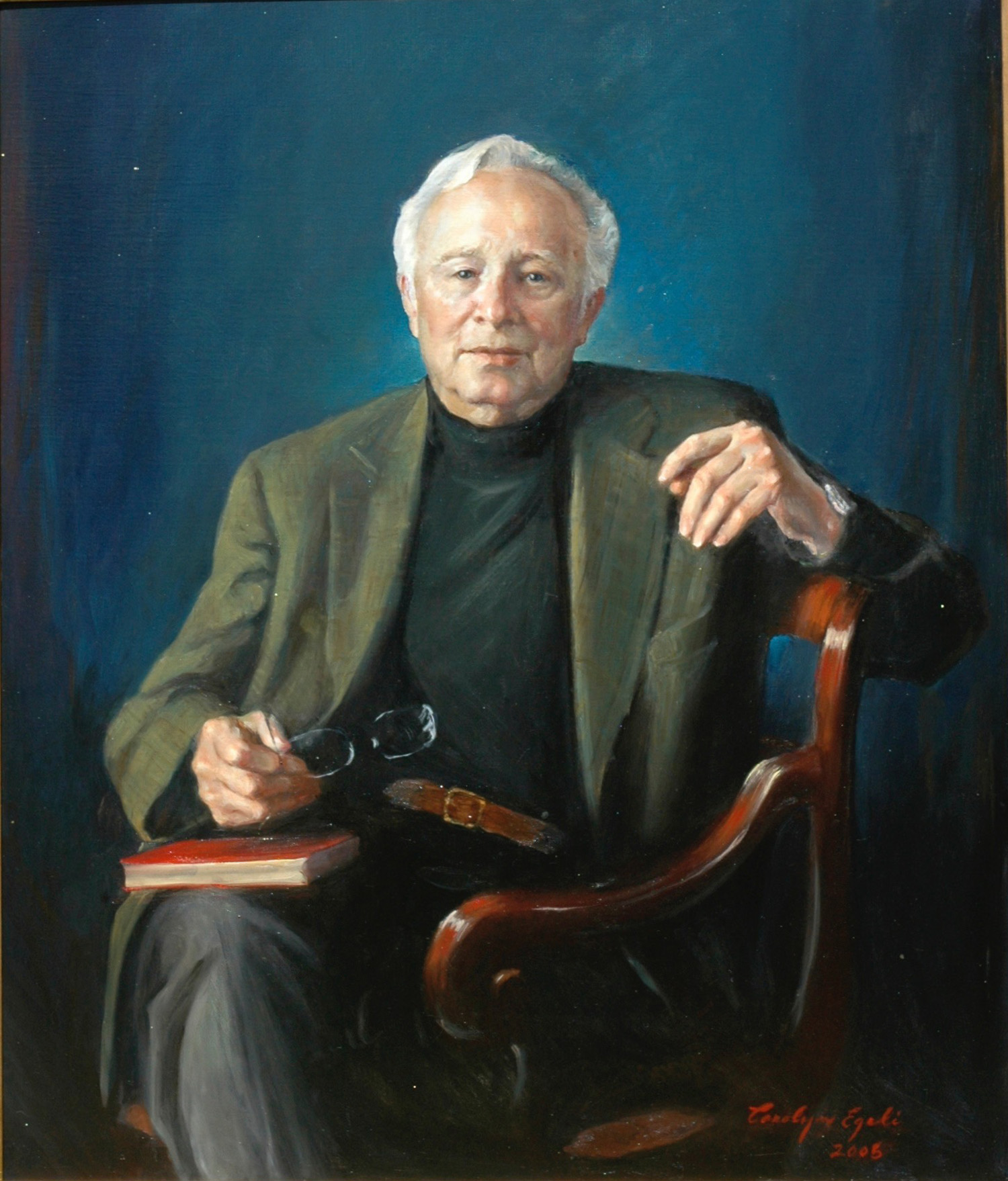 "Mr. Tom Waring, 32"" x 38"". Commission"