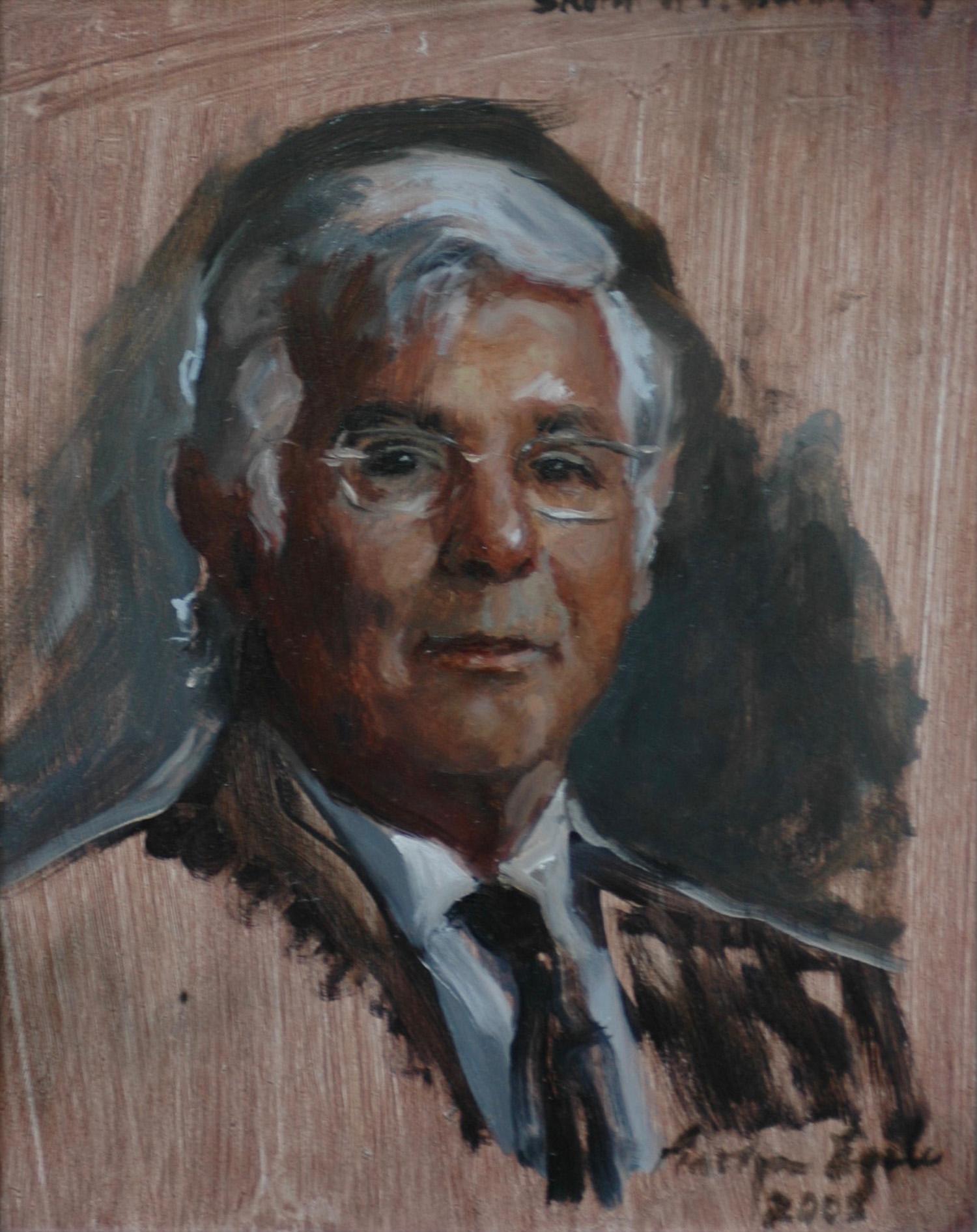 Study for Glendenning Portrait, NFS