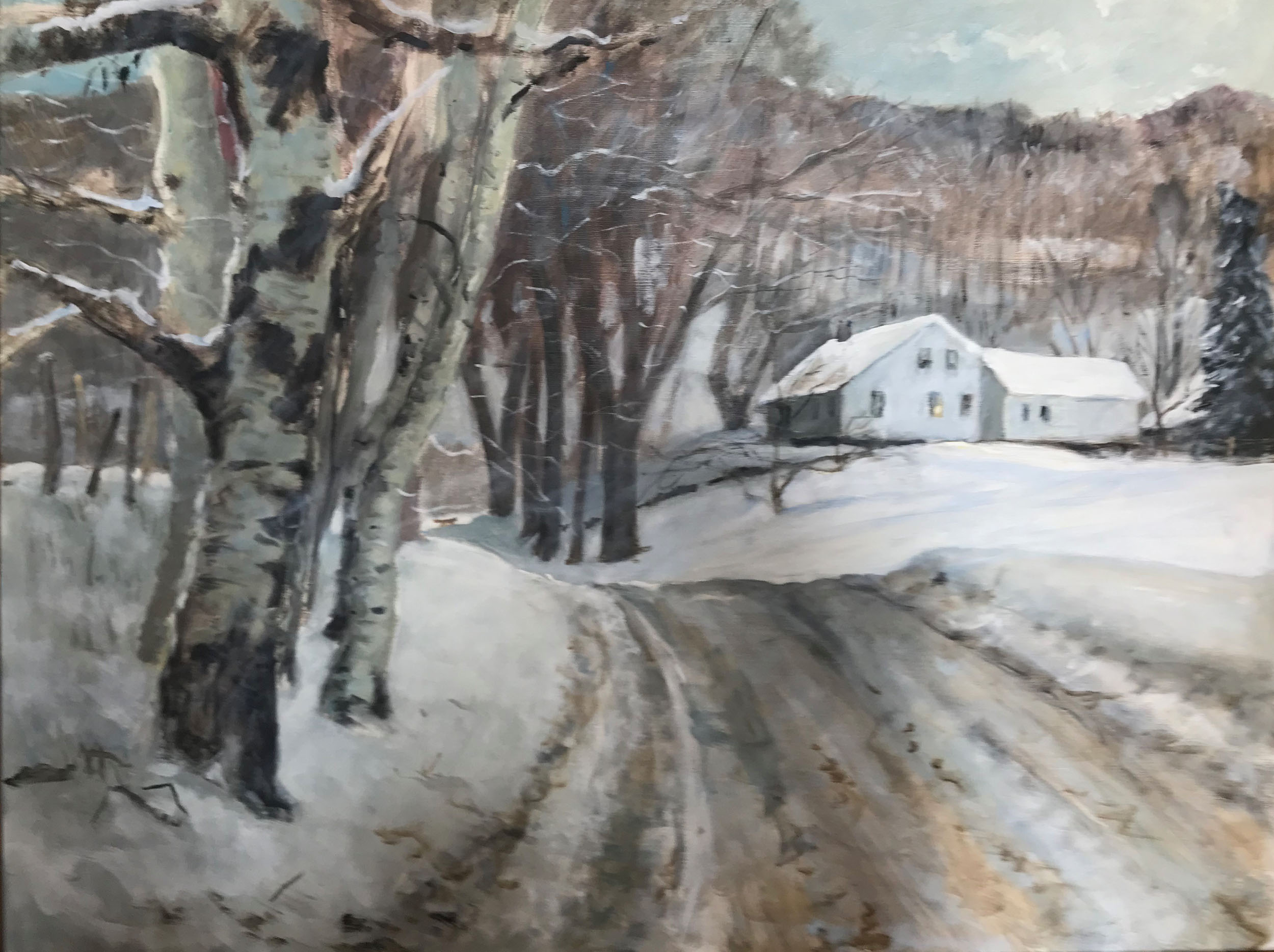 "Winter Day 24"" x 30"""