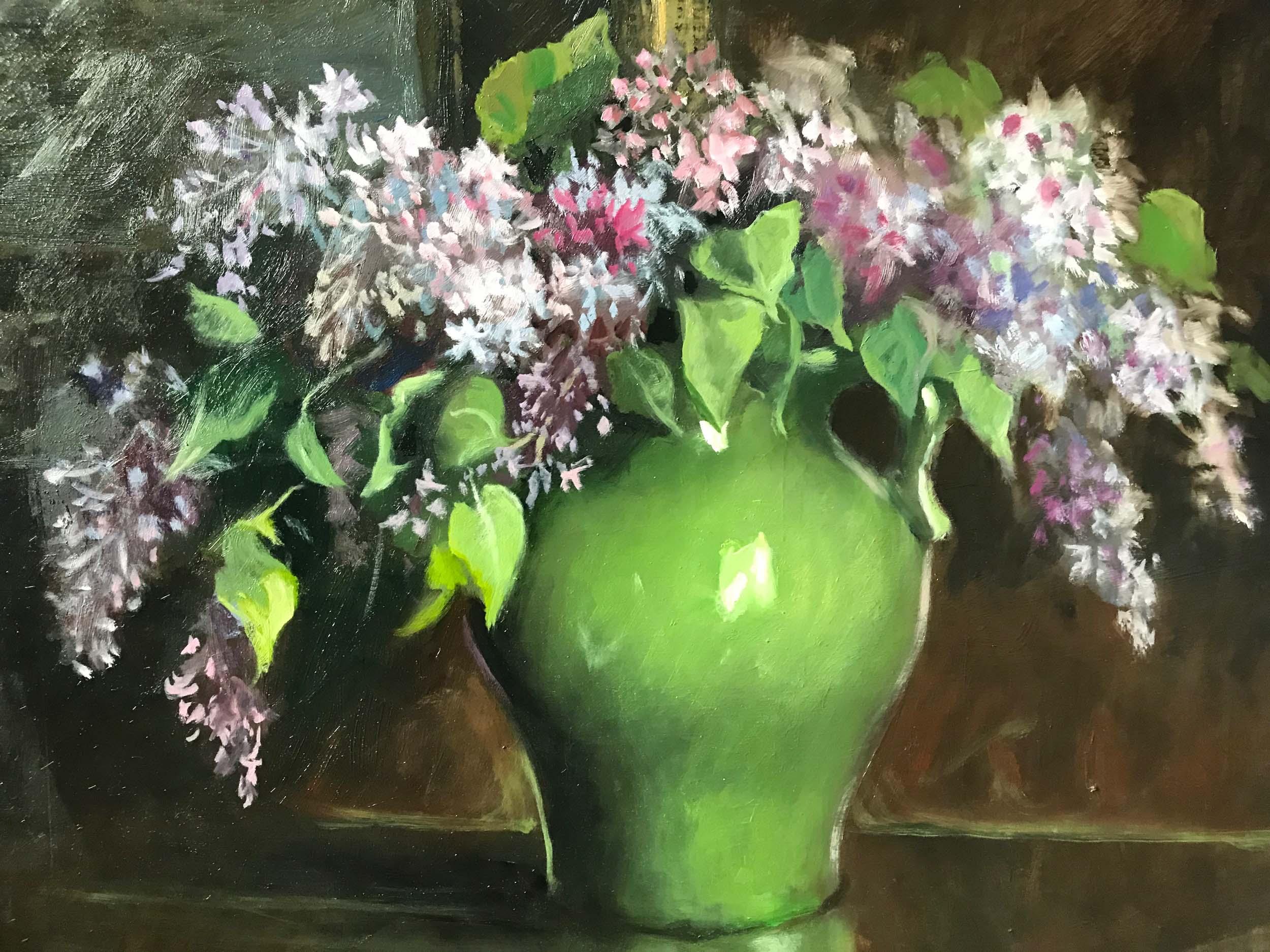 """Lilacs, 16"""" x 20"""""""
