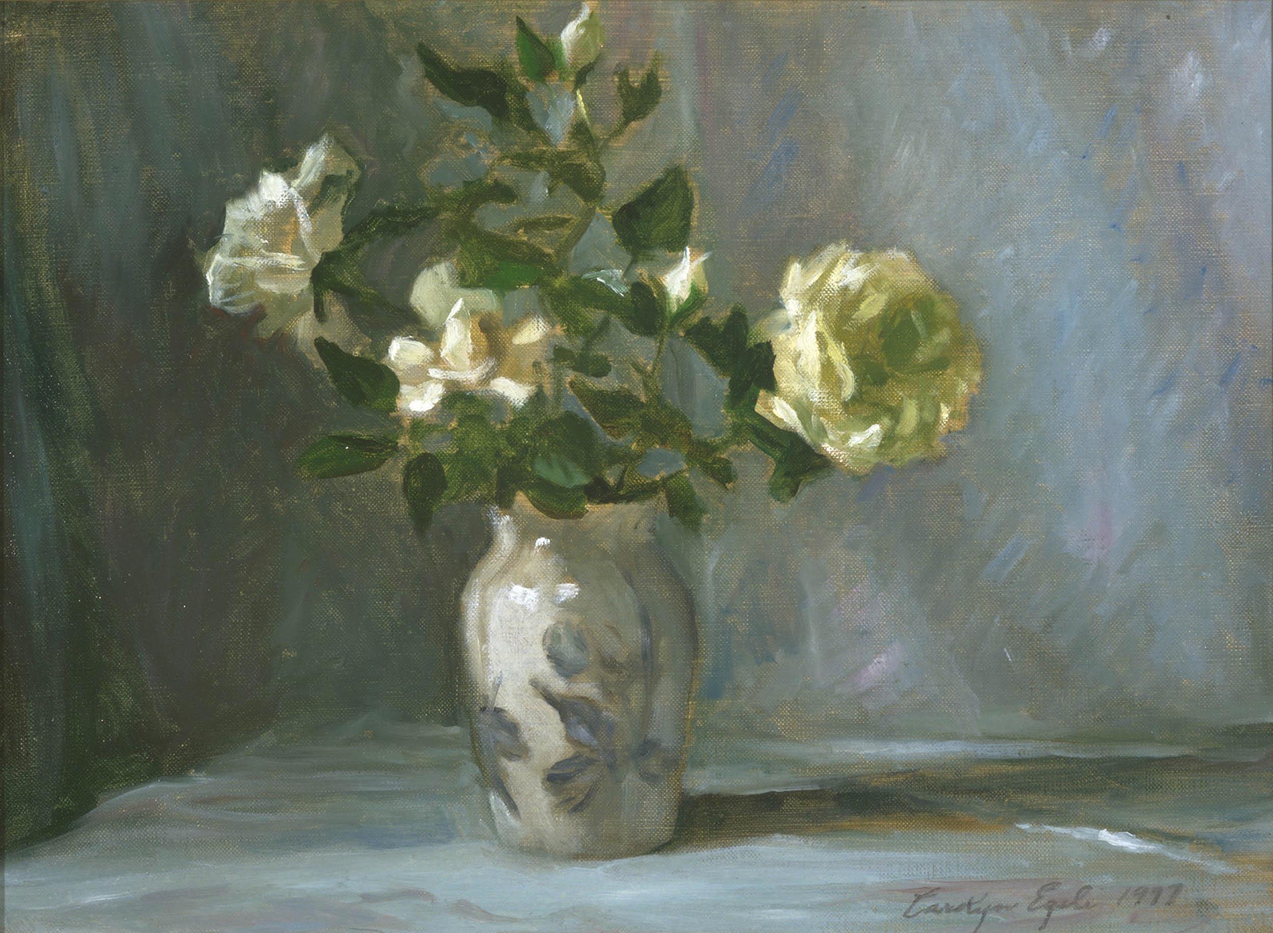 "Wild Roses, 12"" x 16"", NFS"