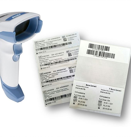 Scanner - TeamEHR's scanner works seamlessly with UDIXpress to read all Universal Device Identifier (UDI) labels from all FDA-accredited issuing agencies: GS1, HIBCC and ICCBBA.Reads 1D and 2D barcodes and concatenates split/dual barcodes.Combines serial number, lot number, expiration date, etc. from the label with GUDID data such as manufacturer, catalog number, MRI, latex content and sterilization.Populates the EHR's implant forms via keyboard emulation, seamlessly integrating with your EHR. Compatible with Citrix desktop virtualization.