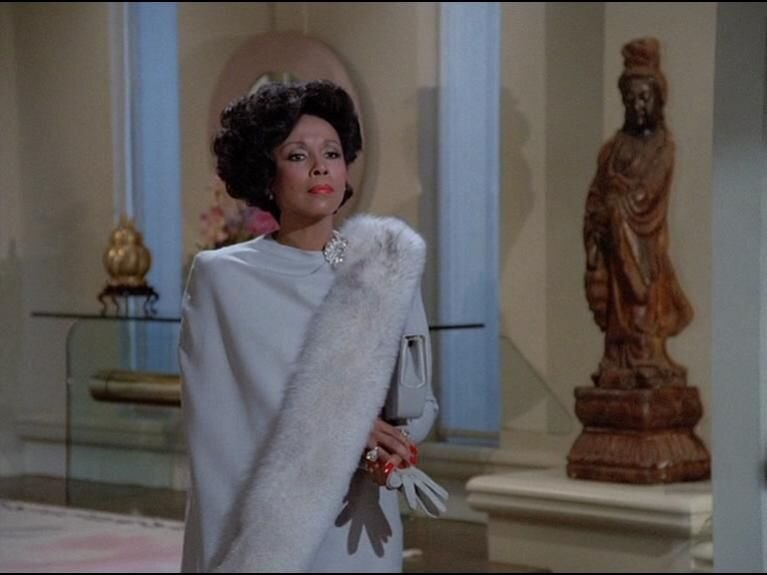 Carroll as the incomparable Dominique Devereaux - On Dynasty in the 80's