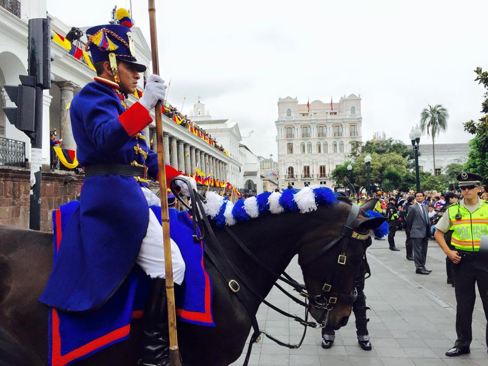 Copy of Changing of the Guard at Plaza Grande