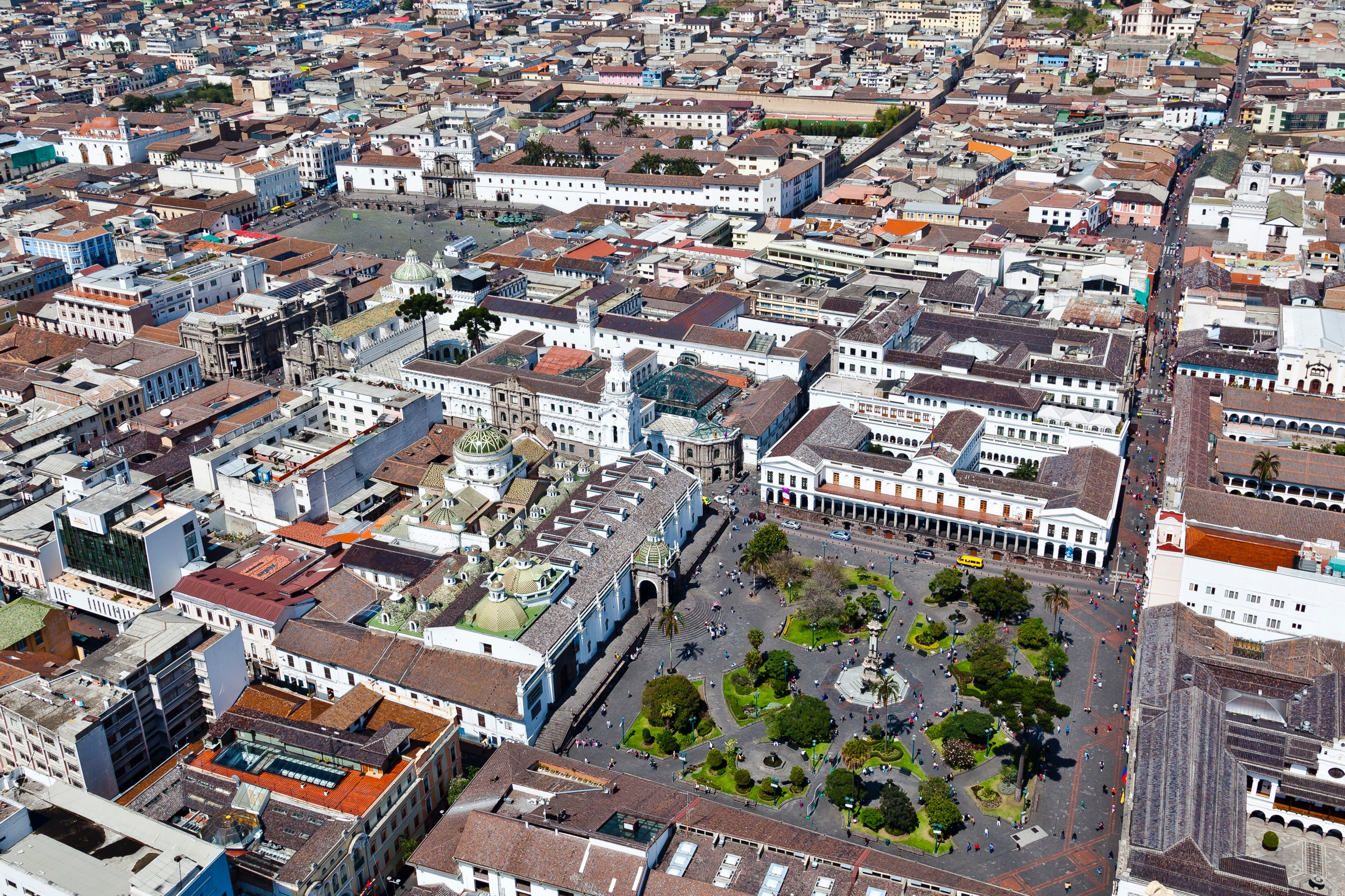 Quito's Old Town: