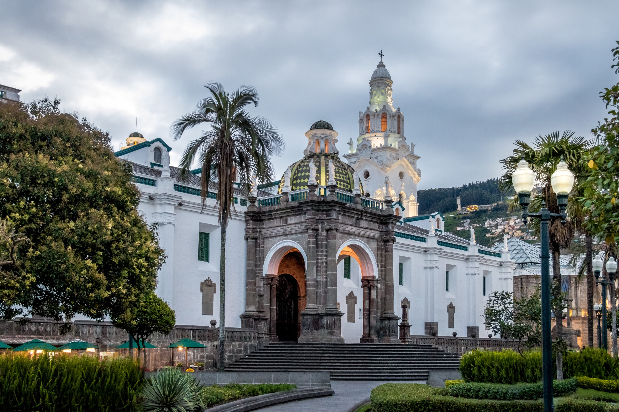 2) Metropolitan Cathedral of Quito: