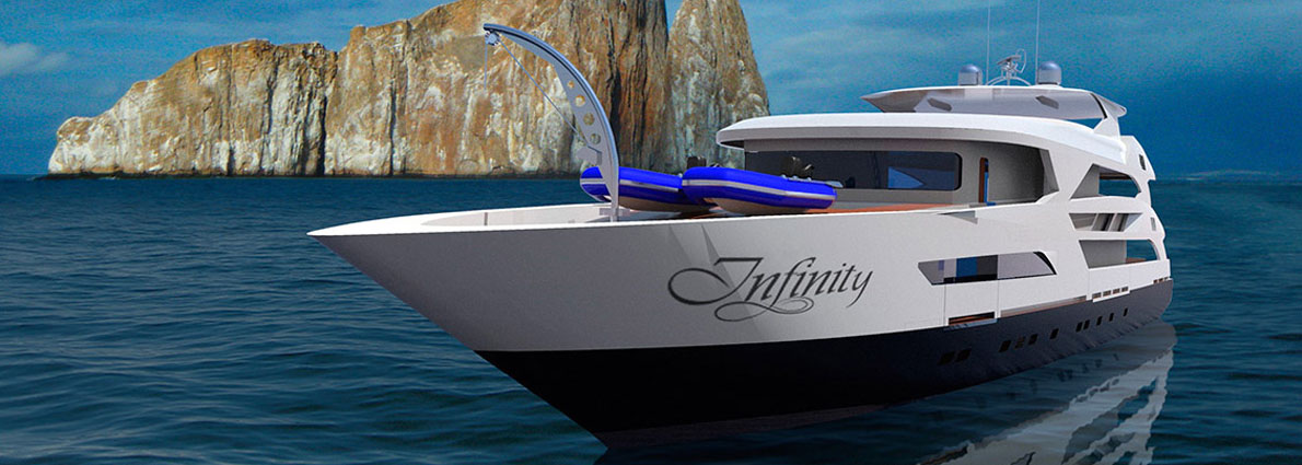 2) Transfer to the Infinity Yacht: