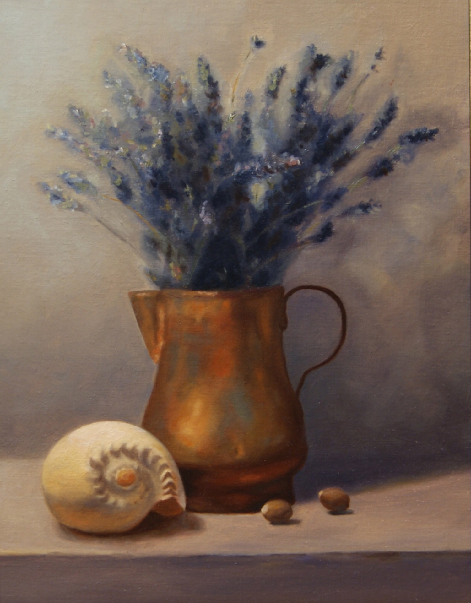 Lavender With Shell (Sold)